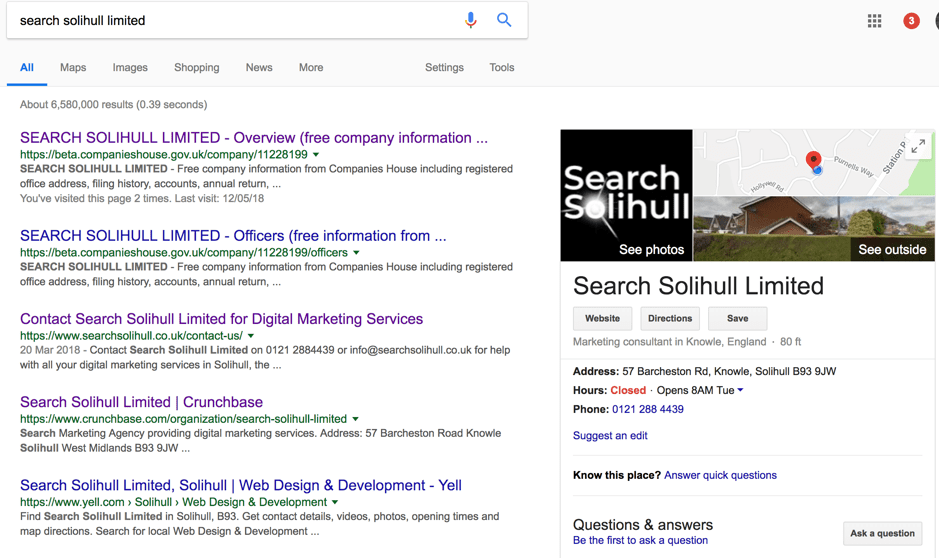local-seo-knowledge-graph-example